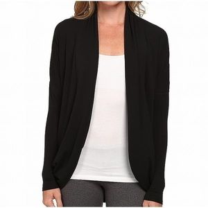 RICKI's jet black oversized cardigan sweater top L